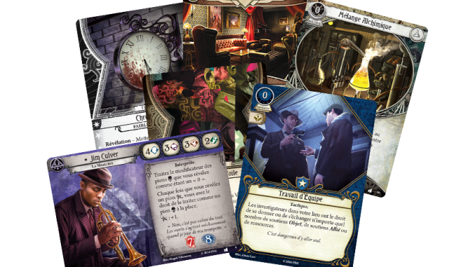 horreur à arkham jeu de carte Avis] Horreur à Arkham : Le Jeu de Cartes   Edge   Jeu de Société
